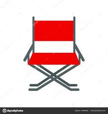 chaise r alisateur vecteur de chaise réalisateur image vectorielle luplupme