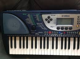 amazon com yamaha psr270 61 key midi portable keyboard with