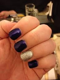 purple and silver nails nails pinterest silver nail gold