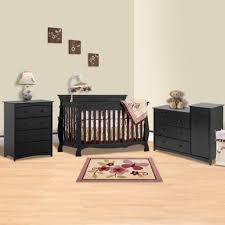 Black Crib With Changing Table Black Baby Crib Sets Simply Baby Furniture Black Nursery