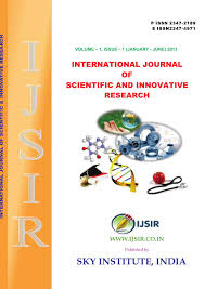 international journal of scientific and innovative research vol 2