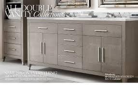 Restoration Hardware Bathroom Vanity by All Vanities U0026 Sinks Rh