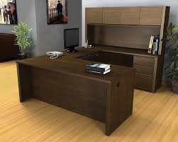 furniture meticulous diy work desk with dark wood finish and