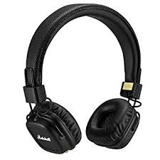 amazon black friday bluetooth amazon com marshall major ii bluetooth on ear headphones black