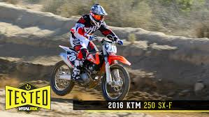 2016 ktm 250sx f reviews comparisons specs motocross dirt