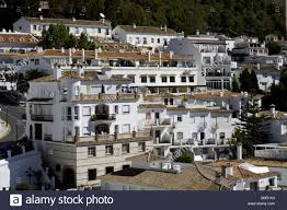 white town pueblo blanco whitewashed spanish houses and apartments