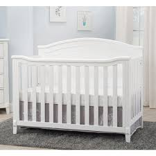 4 In 1 Convertible Crib by Sorelle Berkley Panel 4 In 1 Convertible Crib White