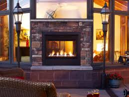 Sided Outdoor Fireplace - indoor outdoor fireplaces offer the best of both worlds heatilator
