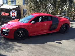 audi r8 matte black stunning red audi r8 v10 on hre p101 u0027s wheels u0026 tires gt r life
