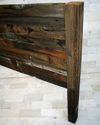 Reclaimed Wood Headboard by Recumbent Queen Headboard Made From Barn Wood Reclaimed
