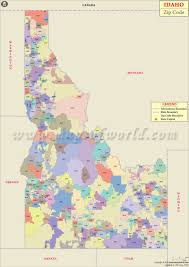 Zip Code Maps by Idaho Zip Code Map Idaho Postal Code