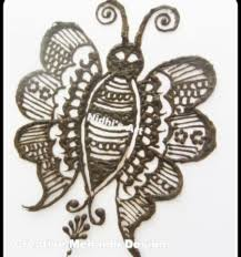 butterfly bird henna mehndi tattoo design tutorial nidhi u0027s art