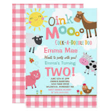 zoo birthday party invitations u0026 announcements zazzle co uk
