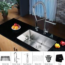 kraus kitchen faucet awesome kraus kitchen sink contemporary home decorating ideas