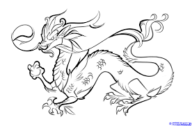 how to draw a chinese dragon easy step by step dragons draw a