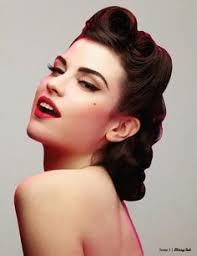 50s updo hairstyles pictures on 50s updo hairstyles cute hairstyles for girls