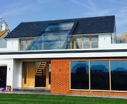 glass roof house skylights pitched roof single storey google search