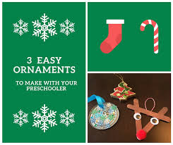 3 easy ornaments to make with your preschooler