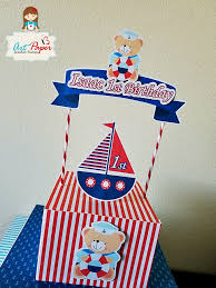 nautical cake toppers personalized cake topper nautical cake topper cake top navy