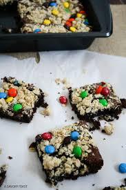 m u0026m u0027s oat crumble cake mix cookies