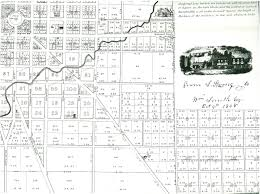 Urbana Ohio Map by Hi Mailbag Wood Lawn And Fletcher Place Historic Indianapolis