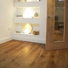 fumed and brushed engineered character oak flooring 15mm