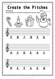 christmas treble clef note reading worksheets reading worksheets