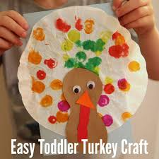 easy toddler turkey craft with coffee filters turkey craft and