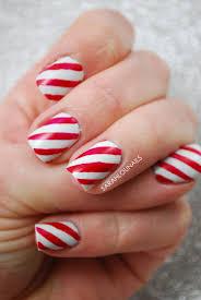 British Flag Nails Sarah Lou Nails Candy Cane Nails