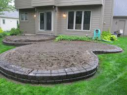 Making A Paver Patio by Patio Paver Base Material Home Design Ideas And Pictures