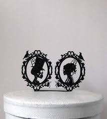 skull wedding cake toppers wedding cake topper wedding cake topper skeleton