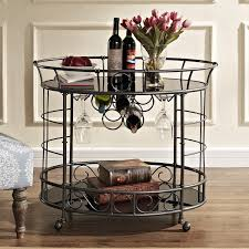 Wine Bar Table Furniture Modern Decorative Bar Tray Table Design For Small Space