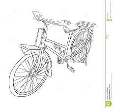 bicycle vector sketch stock vector image of ride transportation