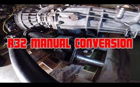 nissan skyline r32 manual conversion part 1 youtube