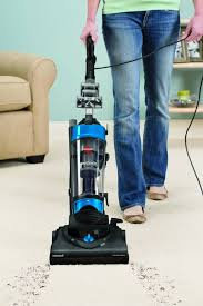 Wet Vacs At Lowes by Shop Bissell Aeroswift U0026 174 Compact Bagless Upright Vacuum At