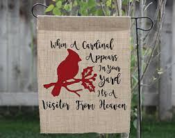 Personalized Garden Decor Cardinal Decor Etsy