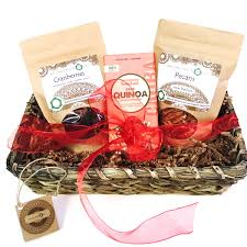 Vegan Gift Baskets Romantic Or Simply Fiendly Perfect For Two Organic Nuts And