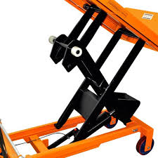 bolton tools new hydraulic foot operated scissor lift and tilt