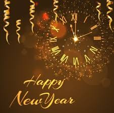 happy new year backdrop happy new year golden background vector free vector