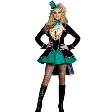 blue witch costume mad hatter female costume