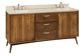 Furniture Vanity For Bathroom Mid Century Modern Bathroom Vanity From Dutchcrafters Amish Furniture