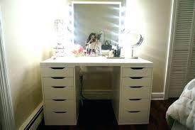 Small Desk Vanity Small Mirrored Desk Interque Co