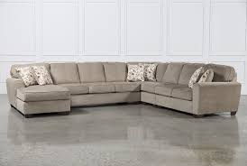 Brown Leather Sectional Sofas by Amazing 5 Piece Sectional Sofas 49 For Diana Dark Brown Leather