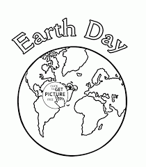 coloring pages earth day coloring page for kids coloring pages