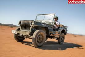 willys quad jeep celebrates 75th anniversary with original willys wheels