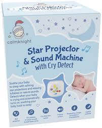 sound machine with light projector amazon com star projector sound machine with cry detect by calm