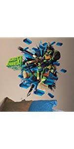 Ninja Turtle Wall Decor Roommates Rmk2246scs Teenage Mutant Ninja Turtles Peel And Stick