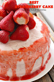best strawberry cake uses pureed strawberries u0026 gelatin in the