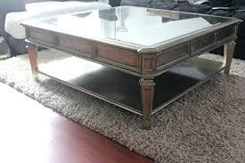 silver barrel side table side table z gallerie side table furniture silver square vintage