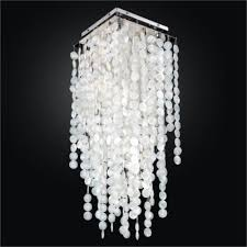 capiz flush mount light capiz ceiling light glow lighting